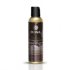 DONA Kissable massage oil (šokolado skonio)