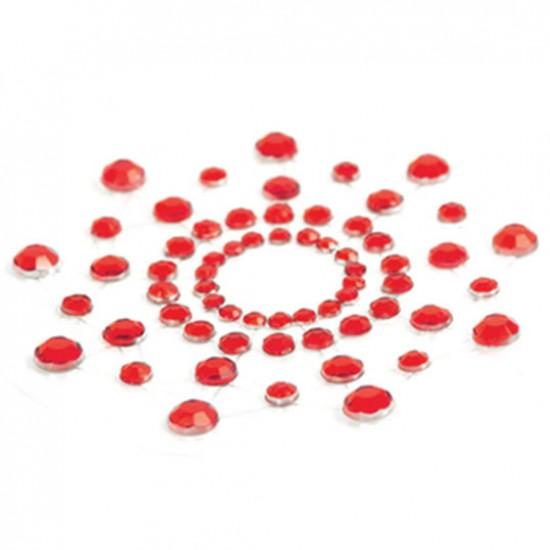 Raudoni spenelių apvadėliai